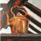 Days Of Yore. Still life acrylic painting.