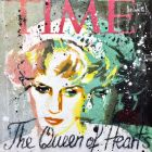 Lady Diana, the queen of hearts, pink and green version