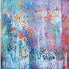 Fragments of joy - XL abstract painting