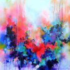 Fresh Moods 34, FREE SHIPPING Large Abstract Painting