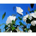 306106 White Roses of York III painting by Rhia Janta-Cooper