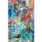 Liberty - Extra large colourful abstract art XXL