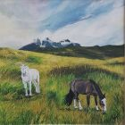 Patagonian horses (Limited edition print)