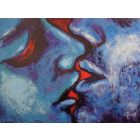 Lovers - Kiss In Blue And Red