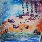 Snowy Scene and Plum Blossom