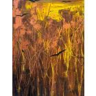 Fading sunlight over The Rookery - original painting on box canvas