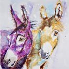 Donkeys 'Janass and Jonass'