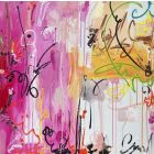 Don't stop the party - XXL Modern Abstract Art , Contemporary Paintings