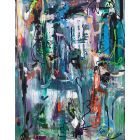 Imagine -  Extra large abstract paintings XXL modern art