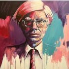 A. Warhol ( in colour)