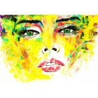 Face in colors