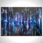 Large Abstract Outer Space 100 x 70cm