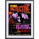 The Roaring Twenties: large framed limited edition print