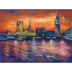 Houses of Parliament and Big Ben Giclee Print