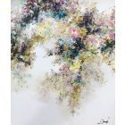 Imperial - Extra large abstract floral art