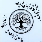 Ceramic tile Splashback for kitchen or bathroom with Tree of Life