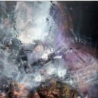 DARKSCAPE CREATOR ENERGY TRACES LARGE PAINTING BY O KLOSKA