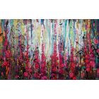 Boisterous - Diptych large painting