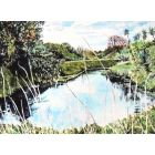 High Summer, Great Ouse, Hemingford Grey, Nr Huntingdon, Cambs. Limited Edition Print