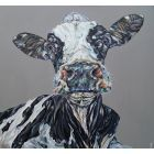 Dairy Queen. Limited Edition Print. Cow print.