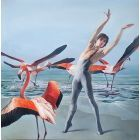 DANCING WITH FLAMINGOS / ARTEM OVCHARENKO, PRINCIPAL DANCER OF BOLSHOI THEATRE