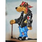 The old Biker Dog