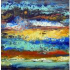 Before the storm, Modern abstract painting art