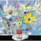 'Flowers in a Soup Can'