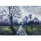 painting of clapham common
