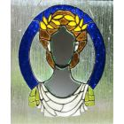 Goddess Stained Glass Mirror