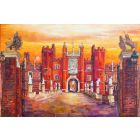 Hampton Court Palace, sunset