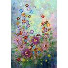 Andra' Tutto Bene #2 - Large original floral painting