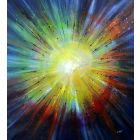 Rise Again - Large original abstract painting