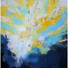 100X100CM /ABSTRACT PAINTING / READY TO HANG / ABSTRACT 111