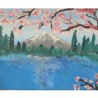Blossom and Mountain