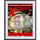 Man Who Sold the World: large framed Bowie limited edition print