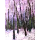 First Snow Of Winter Landscape painting