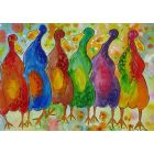 Quirky Colourful Ducks 2