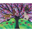 Quirky Cats on a Tree of Life