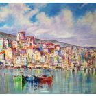 Skiathos Town     Ref. SN 0350     Limited Edition Print