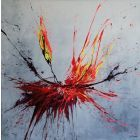 Fires Of Fate (Spirits Of Skies 100110) (100 x 100 cm) XXL (40 x 40 inches)