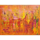 Summer coctail  - large colorful abstract