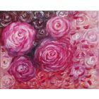 Blossoming Roses| Oil Painting of Roses on 20cmx25cm |Original Painting| Oil on Canvas