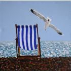 BEACH CHAIR III.. Seasgulls... Chair... Beach