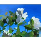White Roses of York IV painting by Rhia Janta-Cooper