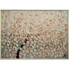 Blooming Dream - Abstract Painting on Canvas, Framed Painting, Blooming Tree