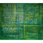 Old schoolboard -XL canvas in conceptual Science art collection