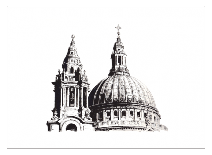 St. Pauls Cathedral detail