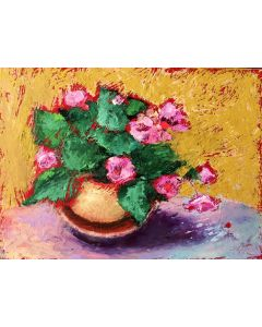 Perky Blooms Floral Painting