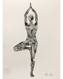 Yoga collection - Tree pose - FRAMED LARGE